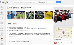 Futura Embroidery & Promotional Solutions Google +