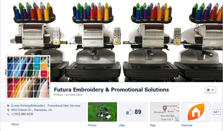 Futura Embroidery & Promotional Solutions Facebook